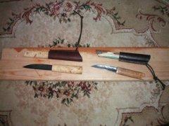 Якутский и эвенкийский ножи ручной работы